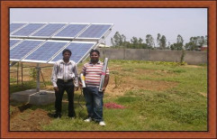 1 hp Solar Pumping System by Radha Energy Cell