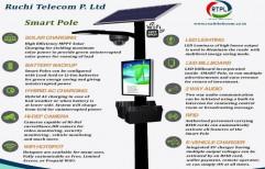 Solar Smart Pole by Ruchi Telecom Private Limited