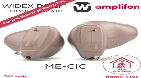 Widex Menu CIC Hearing Aids by Amplifon India Private Limited