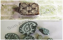 Wooden Printing Stamp Block by Sun Acrylam Private Limited