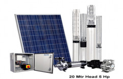 5hp Solar Water Pumping Kit by Solis Solar
