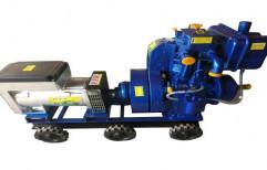 Air Cooled Diesel Generator by S.S. Engineering Works