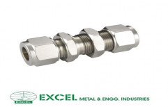 Bulkhead Tube Fitting by Excel Metal & Engg Industries