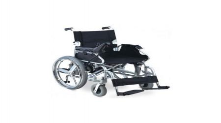 Foldable Powered Wheel Chair by Jeegar Enterprises