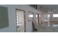 Gypsum Partition by S. R. Ceiling Solution & Interiors