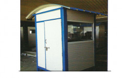 Heavy Duty Sandwich Panel Security Cabin by Anchor Container Services Private Limited