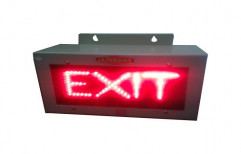 LED Exit Light Wall Mounting by Jainsons Electronics