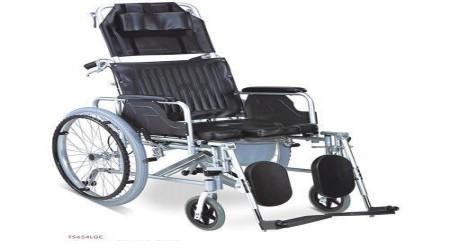 Manual Commode Wheelchair by Jeegar Enterprises