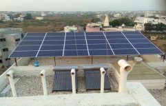 Roof Top Solar Power System by Megawatts Resources And Solutions