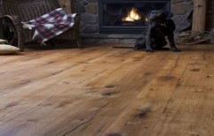 Rustic Wooden Flooring by The Interior Studio
