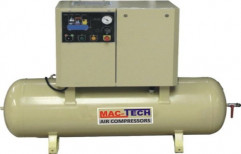 Screw Air Compressor by Hind Pneumatics