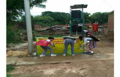 Solar Operated Fluoride Removal Unit by Marcus Projects Private Limited