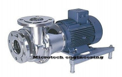 SS Chemical Pump by Micro Tech Engineering
