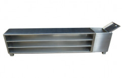 Stainless Steel Cross Over Benches by Sanipure Water Systems