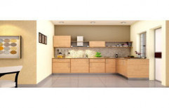Stylish Modular Kitchen by Security Automation