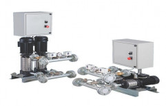 Twin Booster Pump System by Jay Bajarang Engineering & Services