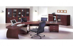 Wooden Executive Table by Raaghavi Associates