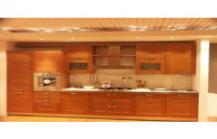 Wooden Kitchen Cabinet by Meenacshi Interiors