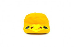 Yellow Solar Cap With Fan by Multi Marketing Services
