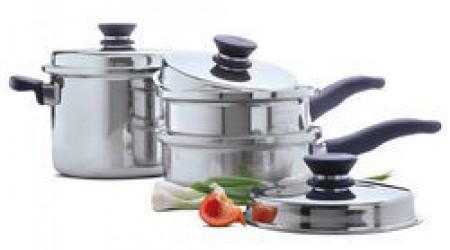 Amway Queen 5 Piece Cookware Set by Akhilesh Enterprises