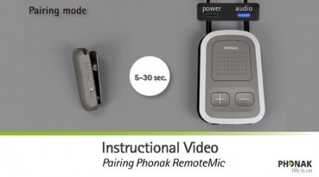 Automatic Hearing Aid Remote by Times Health Care