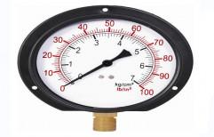 Commercial Oxygen Pressure Gauge by Sai Enterprises