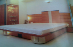 Designer Wooden Bed by Shubham Furniture & Aluminium