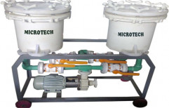 Filter Unit for Bright Nickel Solution by Micro Tech Engineering
