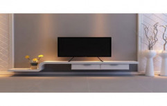 LCD TV Unit by Four Corner's Interiors