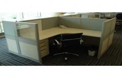 Modular Office Workstation by Raaghavi Associates