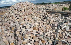 Multi Brown Sandstone Cobbles by Priyanka Construction