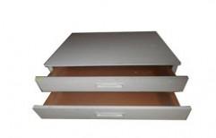 Photocopy Machine Wooden Drawer Cabinet by Royal Enterprises