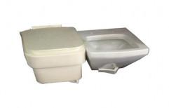Plasto Ceramic Toilet Seat by V. K. Pipe Industries