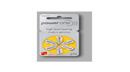Power One Batteries by Hearing Aid Delhi Centre