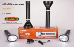 Search Light LED Metal Body Rechargeable-4 by Jainsons Electronics