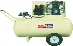 Horizontal Single Stage Air Compressors by Hind Pneumatics