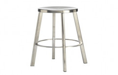 Stainless Steel Stool by Sanipure Water Systems