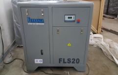 20 Hp Ferranza Screw Air Compressor by Amfos International