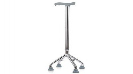4 Legs Walking Stick by Mangalam Surgical