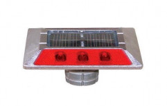 Aluminium Red LED Solar Road Stud by Multi Marketing Services