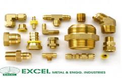 Brass Ferrule Fittings by Excel Metal & Engg Industries