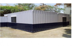 Bunkhouse Security Office by Anchor Container Services Private Limited
