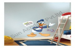 Cartoon Wall Stencil by Sun Acrylam Private Limited