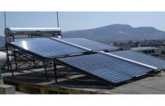 Commercial Solar Water Heating System by Hitech Electronics