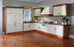 Customised Modular kitchen by Omegas Creative World