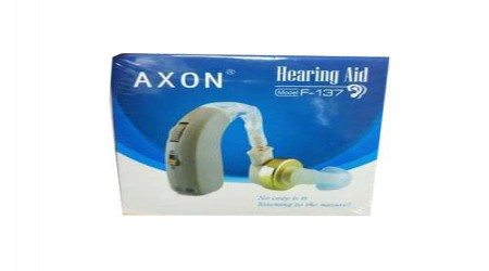 F 137 Axon Hearing Aid Machine by S.G.K. Pharma Company