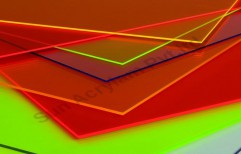 Fluorescent Acrylic Sheet by Sun Acrylam Private Limited