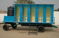 FRP Mobile Toilets by Anchor Container Services Private Limited