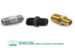 Hex Nipple by Excel Metal & Engg Industries