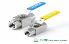 High Pressure Ball Valve by Excel Metal & Engg Industries